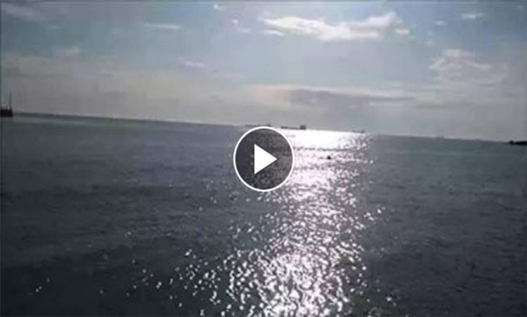 Sarköy Haberleri: Sıcak havayı görünce denize girdi 53